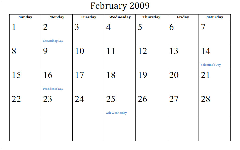 February Holidays. February 1st - National Freedom Day