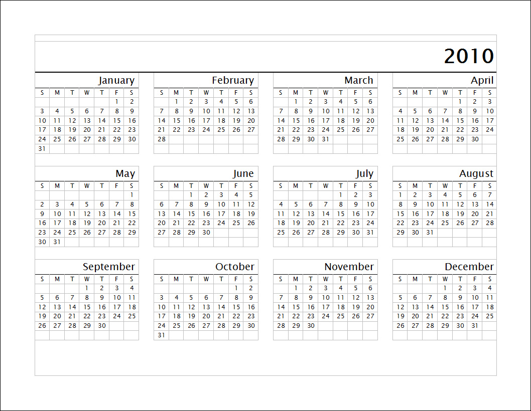 2011 Calendar With Holidays Printable Calendar 11x17 printable