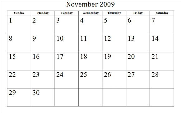 Blank Calendars For Teachers | Calendar Template 2016