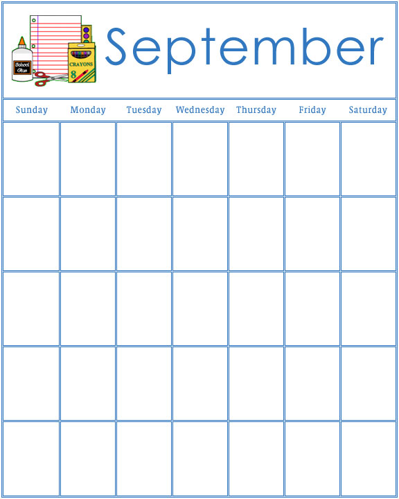 image regarding Free Preschool Calendar Printables called Preschool Calendars